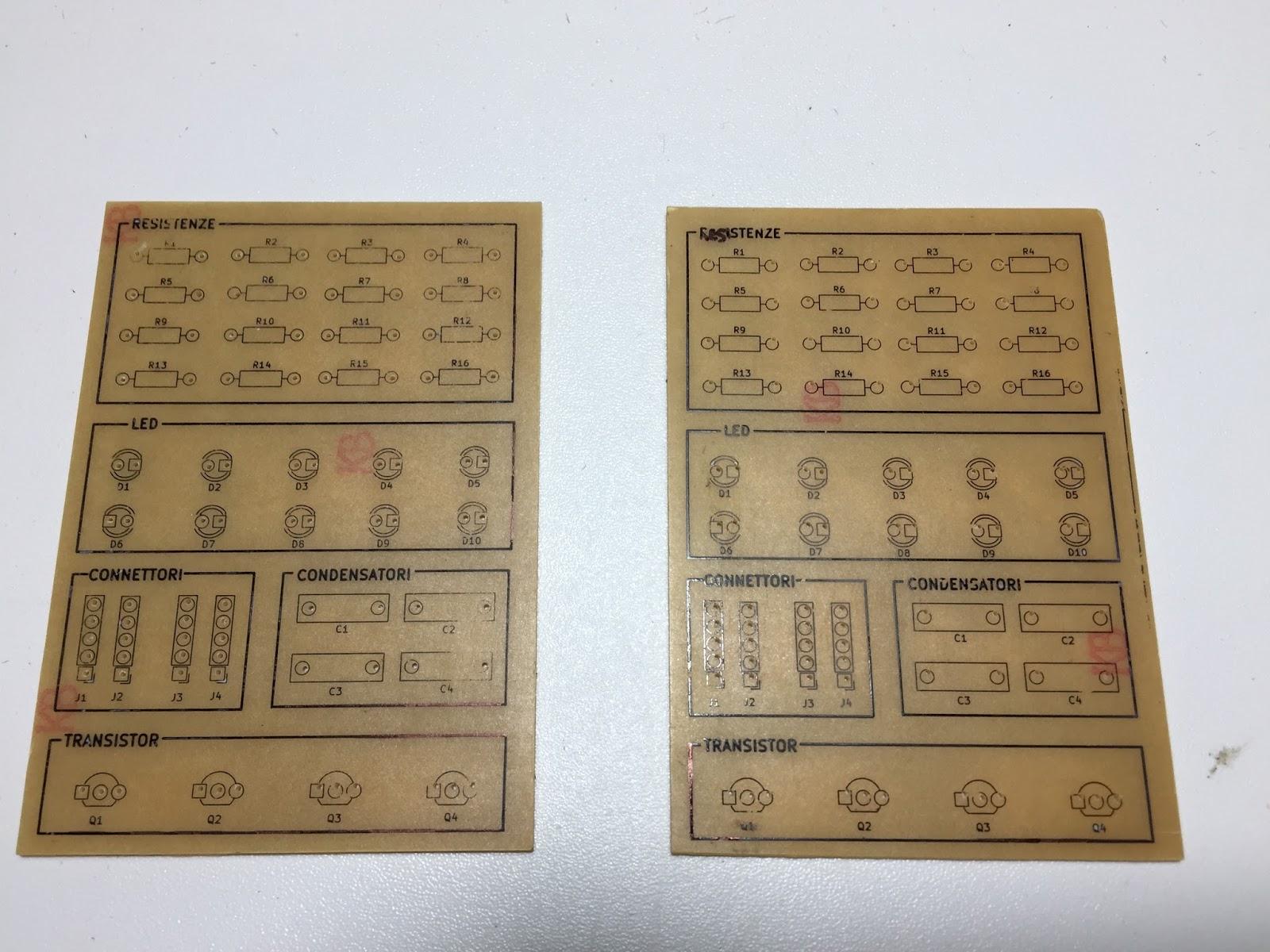 Schema Elettrico Led : Antonio mancuso s kit mini lampeggiatore led