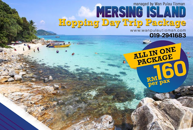 Mersing Island Hopping Day Trip Package