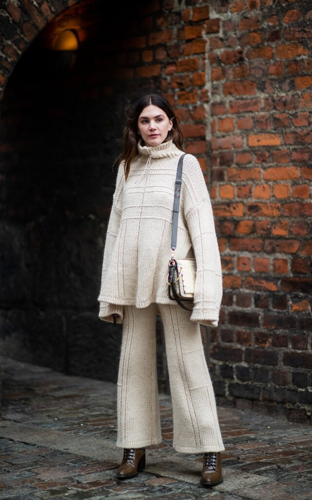 The Best Knit Sets For Fall – Chunky Turtleneck Sweater