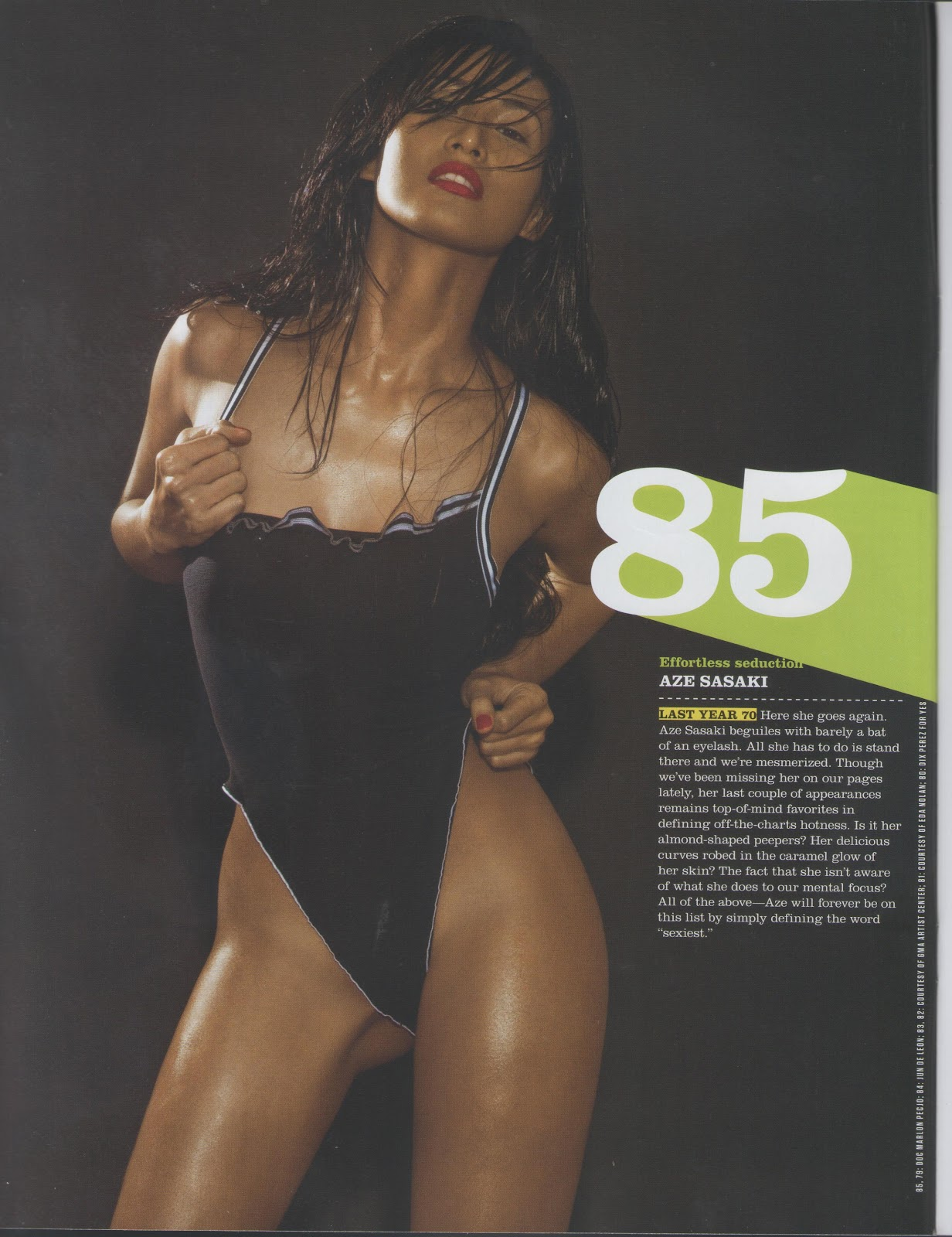 Pinoy Fhm Fhm - 100 Sexiest Women In The World 2012 - Photos-3656