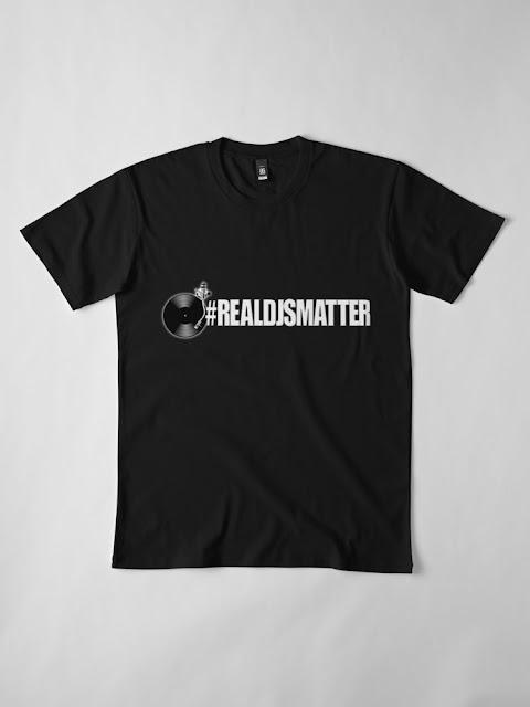 REAL DJS MATTER TSHIRT