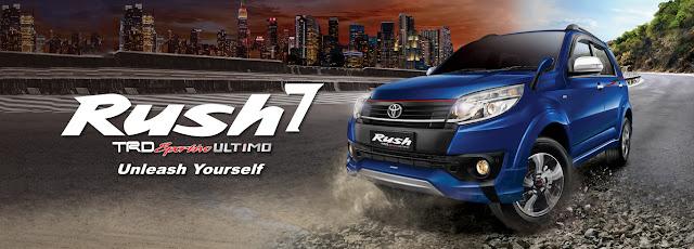 Spesifikasi Harga Kredit & Cicilan Toyota Rush Surabaya