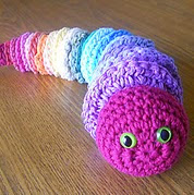 http://www.ravelry.com/patterns/library/raid-your-stash-rainbow-worm