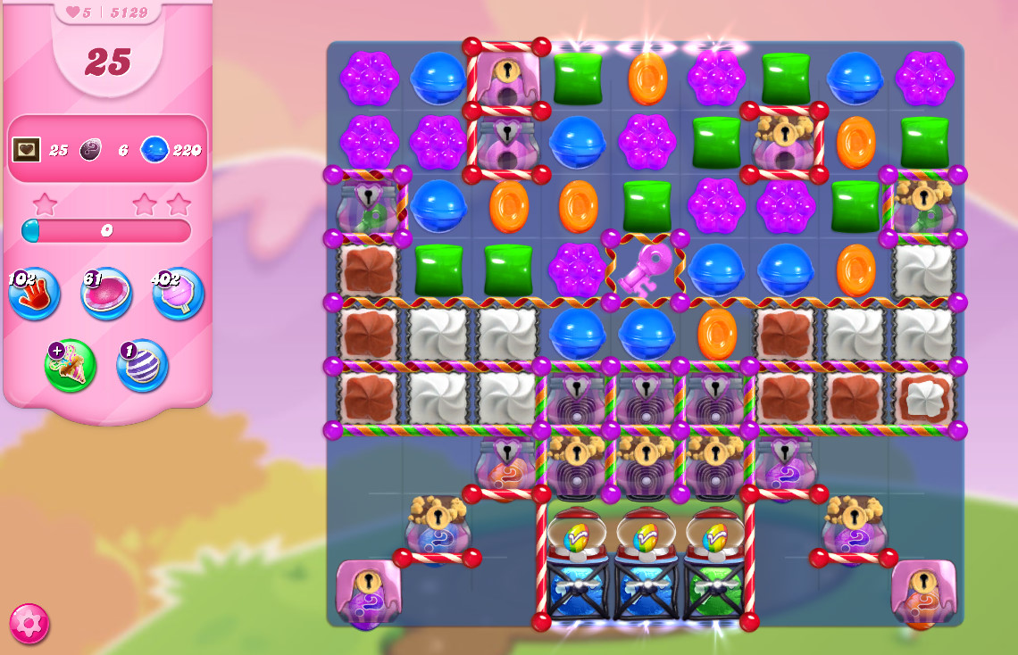 Candy Crush Saga level 5129