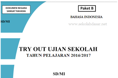 Soal dan Kunci Jawaban US Bahasa Indonesia SD Tahun 2017