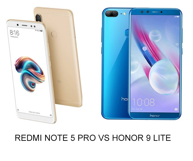 note 5 pro vs honor 9 lite