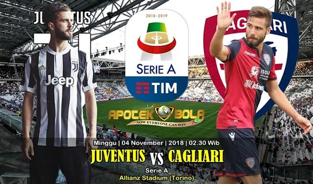 Prediksi Juventus Vs Cagliari 04 November 2018
