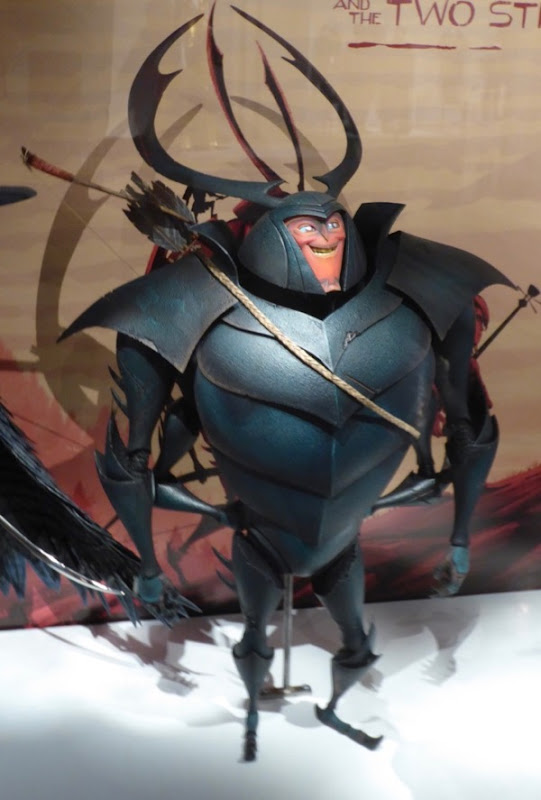 Kubo Two Strings Beetle puppet