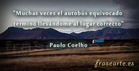 Frases de viaje de Paulo Coelho