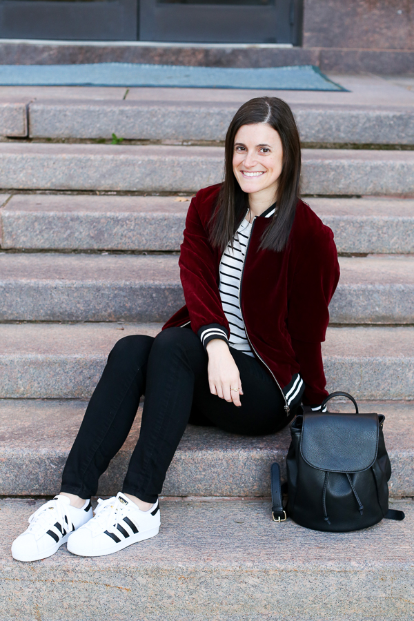 Naturally Me, Romwe Bomber Jacket, Bomber Jacket, Burgundy for Fall, How to Wear a Bomber Jacket for Fall