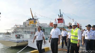 Menhub: 100 Kapal Disiapkan untuk Program Tol Laut - Info Presiden Jokowi Dan Pemerintah