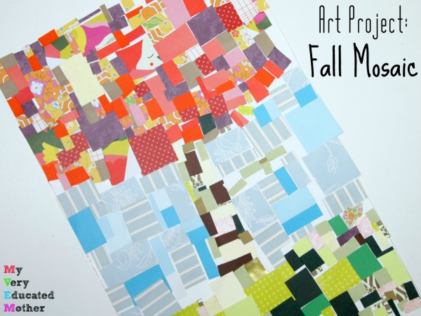 Colorful Fall Art Project