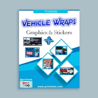 Vehicle Wraps, Graphics & Stickers - Printing & Installation