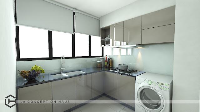 5 Idea Ubah Suai Untuk Dapur Kecil