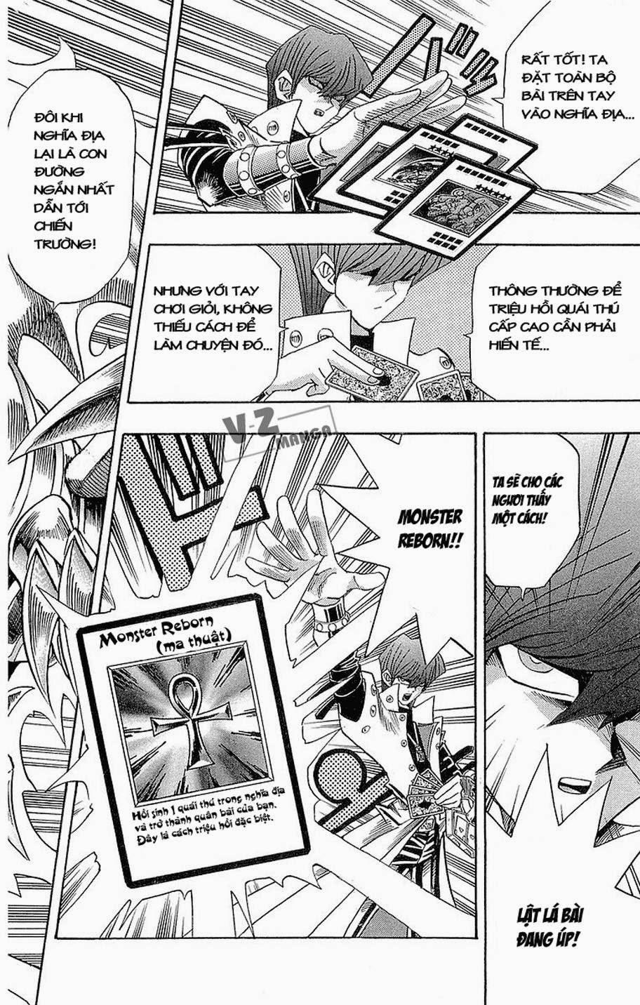 YUGI-OH! chap 186: quái thú kết hợp! trang 18