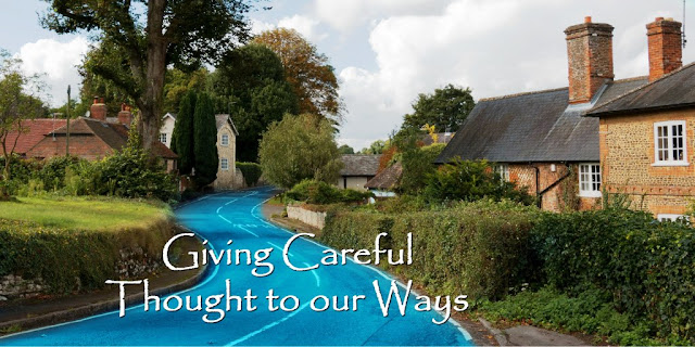 Give Careful Thought to Your Ways - Haggai