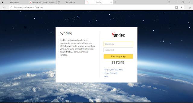 تحميل متصفح ياندكس النسخة الاصلية