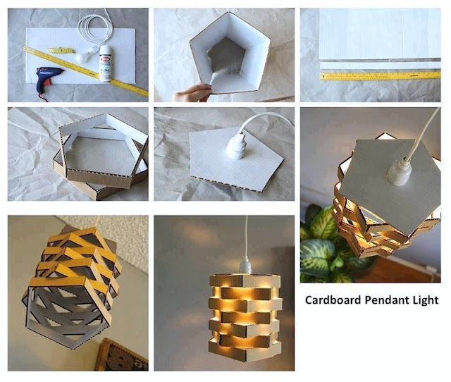 How to Do Crafts With Waste Materials