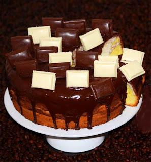 Как приготовить шоколадно- банановый торт.