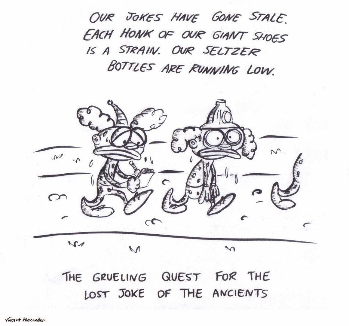 Vincent Alexander Cartoons: Lost Joke