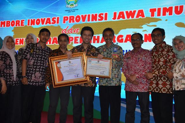 Trenggalek Raih Dua Penghargaan Sekaligus pada Jambore Inovasi Provinsi Jatim 2017