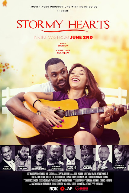 VIDEO :'Stormy Hearts' New Movie  By Judith Audu Set To Hit Cinemas.