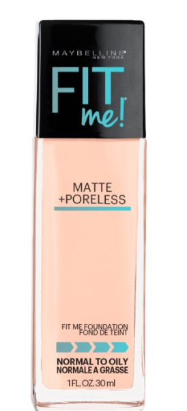 Maybelline New York Fit Me Matte + Poreless Foundation Review