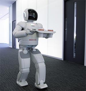 ASIMO desde el año 2009 es capaz de ser controlado por una persona ...