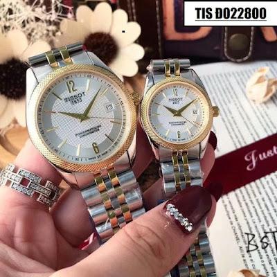 Đồng hồ cặp đôi đẹp nhất Tis Đ022800
