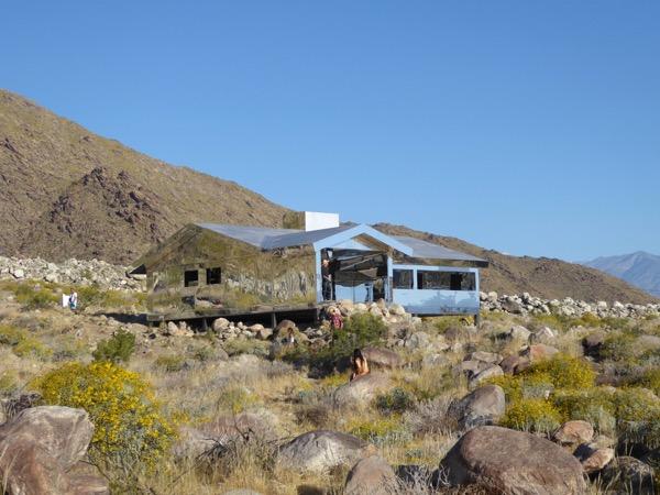 Doug Aitken Mirage house Palm Springs