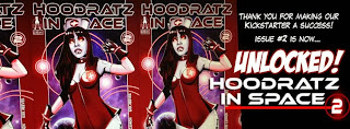 The Sexy Ladies of Hoodratz In Space Comic Book Download