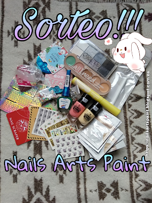 sorteo Nails arts paint