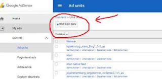 cara memasang iklan adsense
