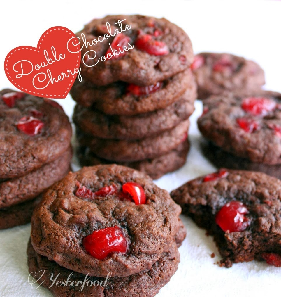 double-chocolate-cherry-cookies