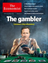 Corfu Blues and Global Views: The Economist, Brilliant Covers