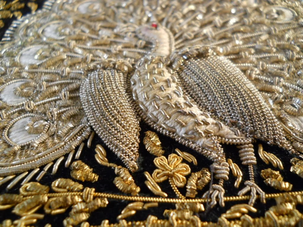 Local style: Zardozi, the ancient art of metal embroidery