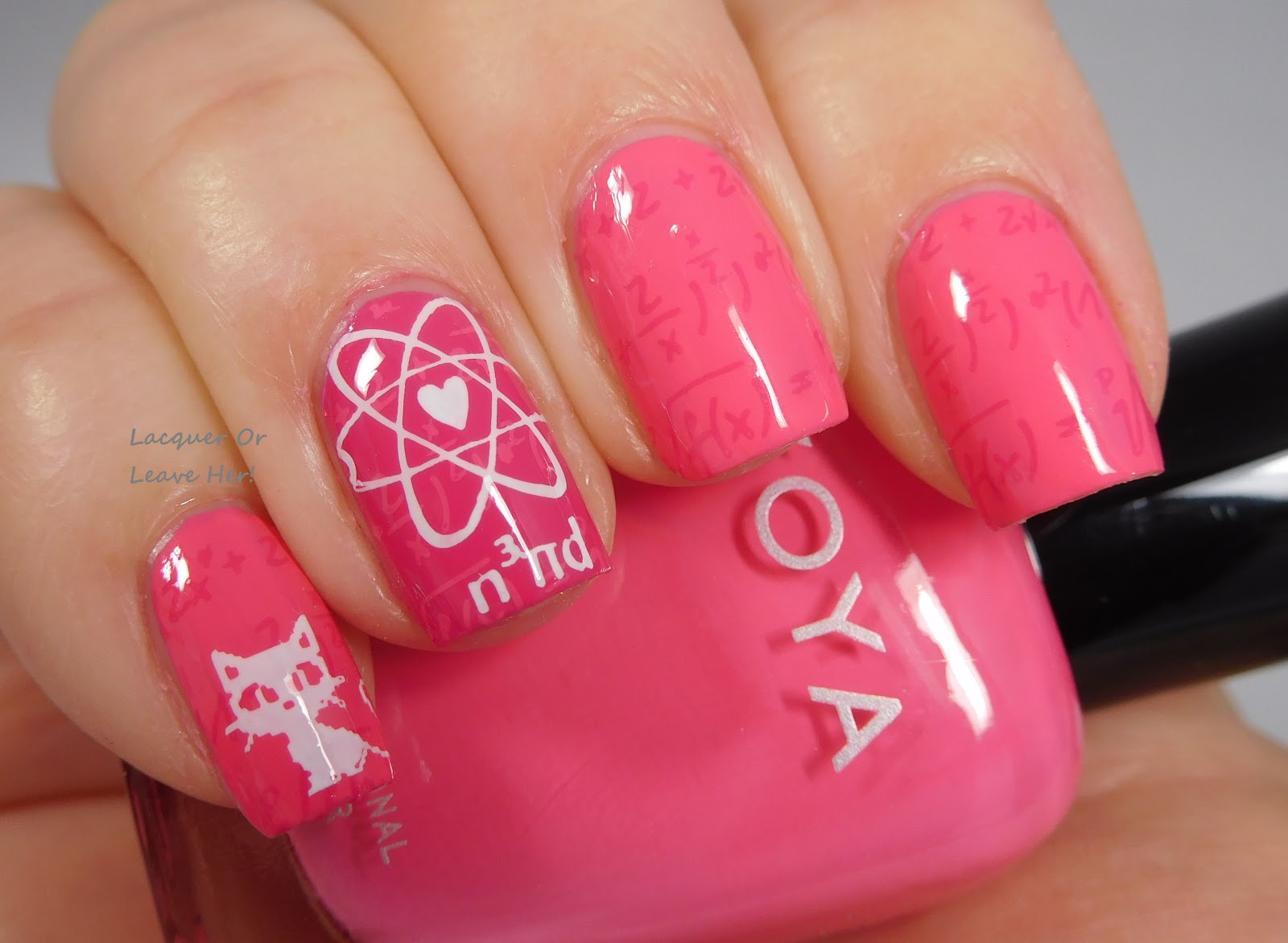 Lacquer or Leave Her!: NOTD: Lina Nail Art Supplies Hipster, Geek ...