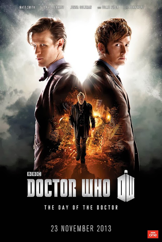 Doctor Who Day of the Doctor poster