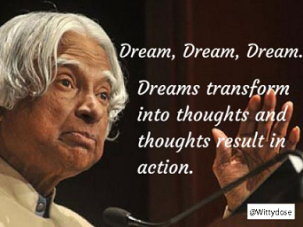Ten Best Quotes By Dr. A. P. J. Abdul Kalam