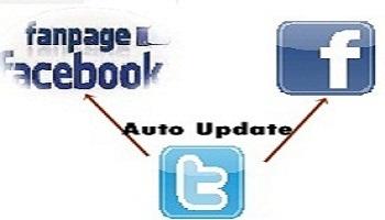Menghubungkan Status Twitter Otomatis ke Profil Facebook dan Fanspage