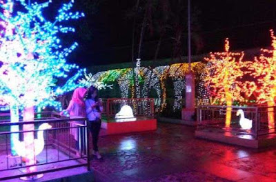 Wahana Lampion Taman Pelangi