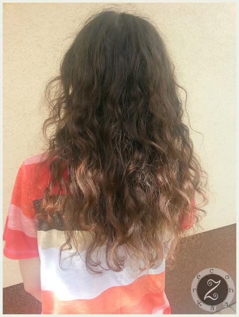 włosy czerwiec lipiec