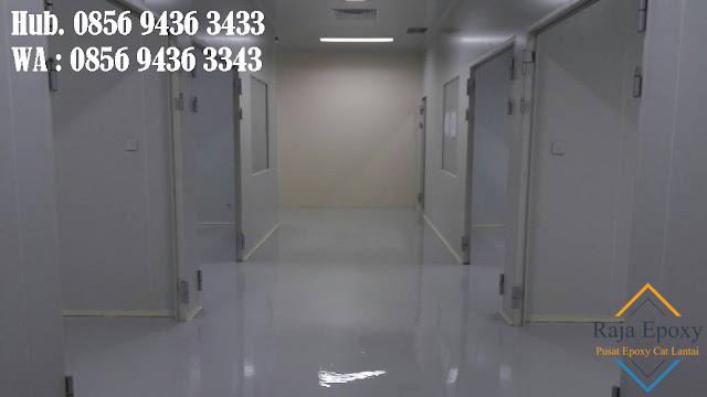 Rumah Sakit Lebih Elegan jika dipasang Epoxy pada Lantai