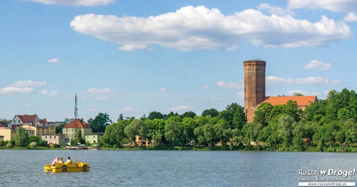 Pomorskie Nieoczywiste - Zamek w Człuchowie od strony wody