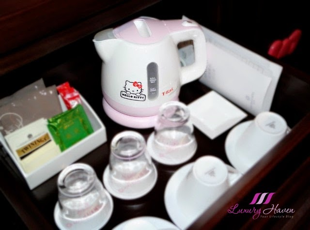 keio plaza hotel tokyo tefal hello kitty kettle