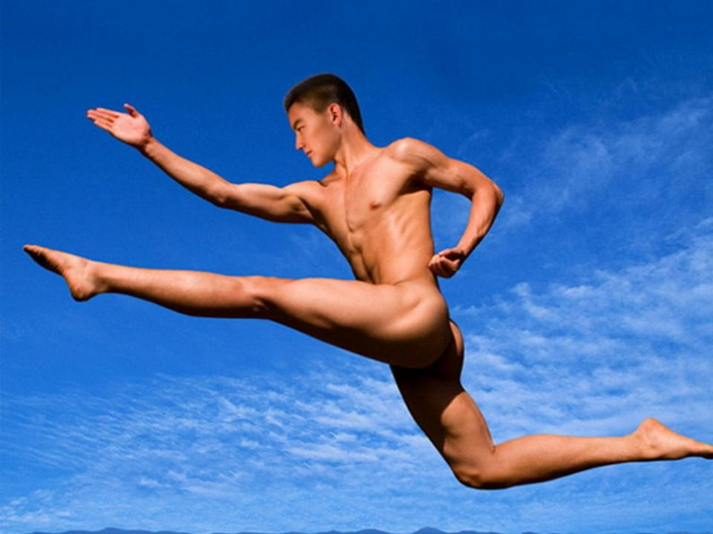 Naked Man Skydiving 71