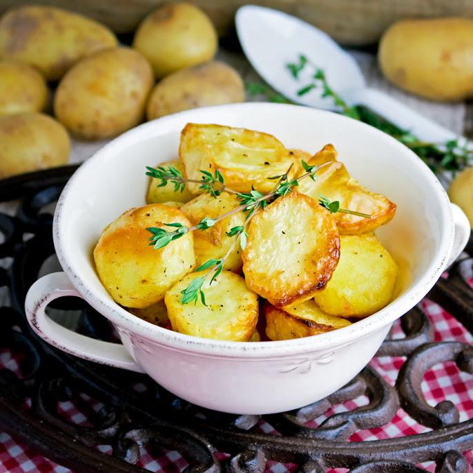 Heerlijke aardappeltjes uit de oven