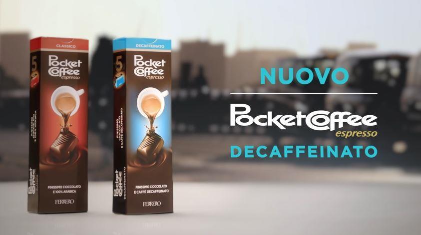 Canzone Pocket Coffee pubblicità da oggi è anche Decaffeinato con ciclista - Musica spot Novembre 2016