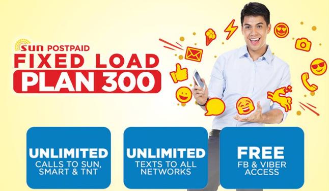 Sun Postpaid Plan FLP 300