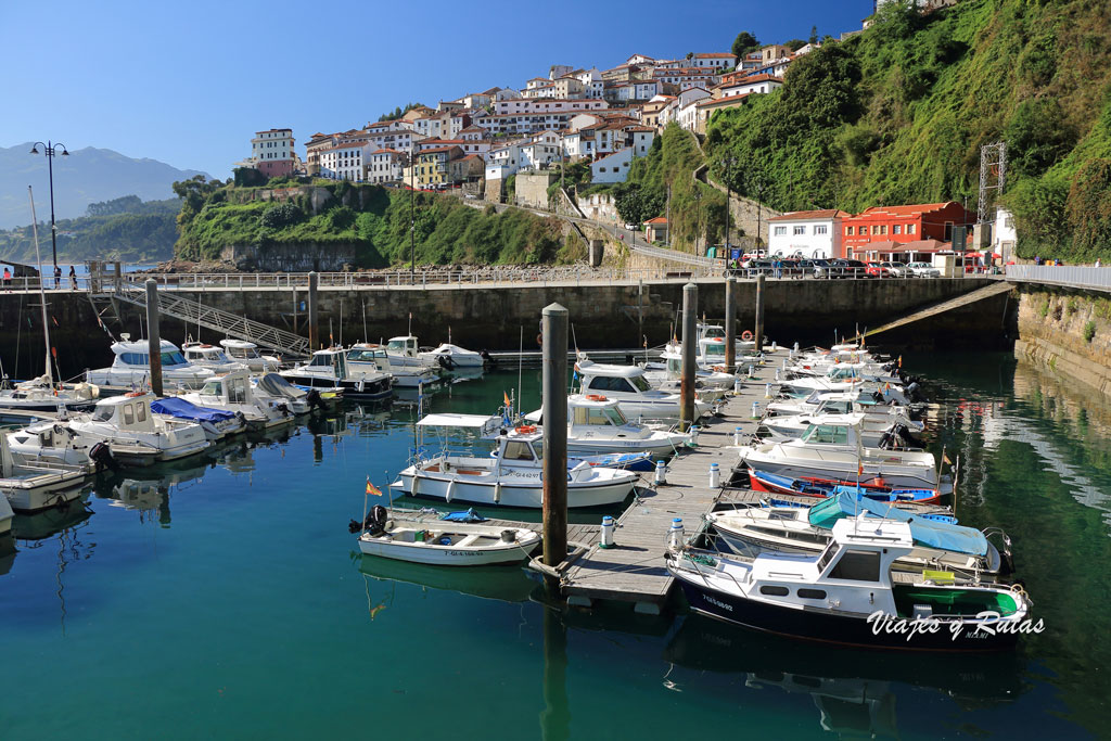 Puerto deportivo de Lastres, Asturias
